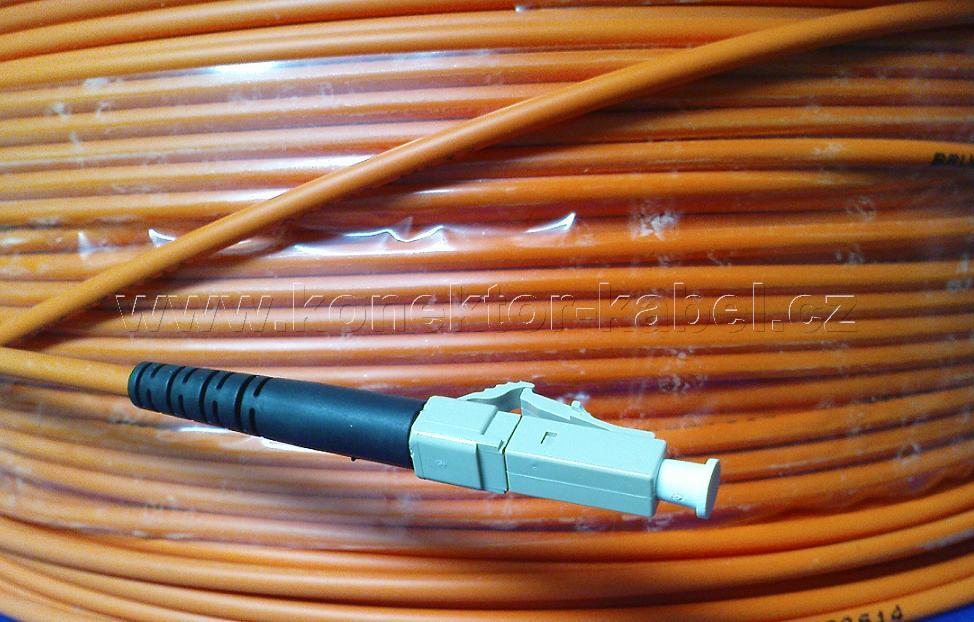 Patch Cord, LC/PC - LC/PC, Simplex, MM, 80M